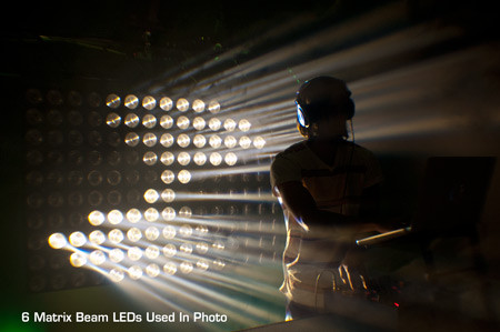 Ремонт American DJ Matrix Beam LED
