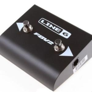 Ремонт LINE 6 FBV2 FOOT PEDAL ножной контроллер 2 кнопки, для Vetta/HD147/XT Series/Flextone III/Spider II/ II