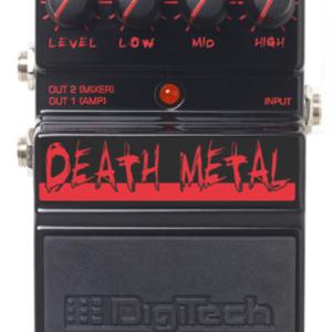 Ремонт DIGITECH DDM DEATH METAL DISTORTION