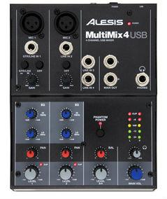 Ремонт ALESIS MULTIMIX 4 USB FX