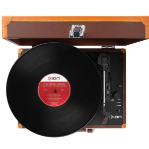 Ремонт портативного винилового проигрывателя ION AUDIO MOTION DELUXE BROWN USB