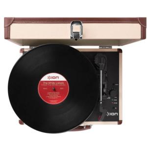 Ремонт переносного винилового проигрывателя ION AUDIO MOTION DELUXE CREAM USB