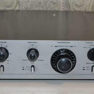 Ремонт полупроводникового усилителя Пульсар У 001 стерео