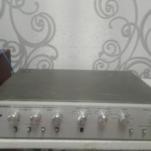 Ремонт полупроводникового усилителя  Радиотехника УП 001