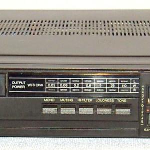 Ремонт полупроводникового усилителя Радиотехника У 7111 стерео