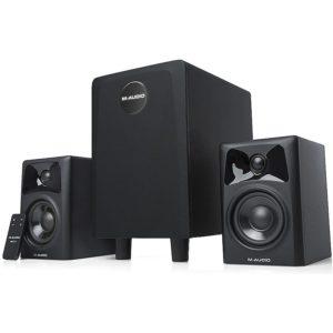 Ремонт комплекта акустики 2.1 M Audio AV 32.1